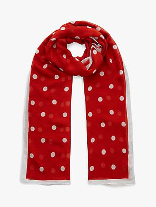 Hobbs Penny Scarf, Red