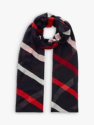 Hobbs Lainey Scarf, Navy