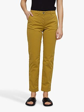 Jigsaw Slim Leg Cotton Chino Trousers