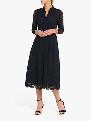 Helen McAlinden Sonia Dress, Navy