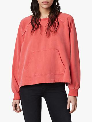 AllSaints Jessi Sweatshirt, Red