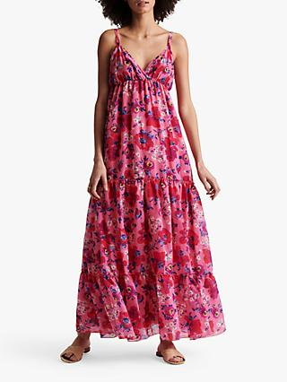 Gerard Darel Santa Floral Maxi Dress, Pink