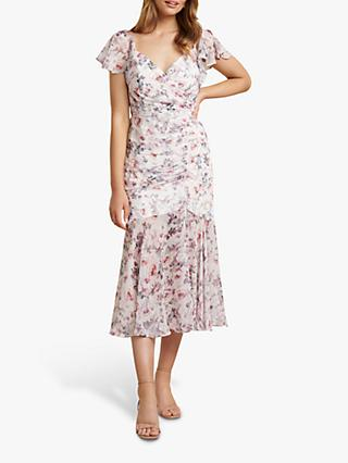 Forever New Azalea Floral Wrap Dress, Heavenly Bloom