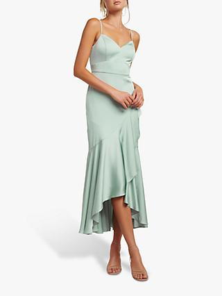 Forever New Hazel Wrap Dress, Pale Sage