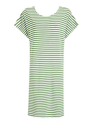 Masai Copenhagen Nanne Striped Dress, Elm Green