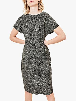 Oasis Abstract Wiggle Dress, Multi