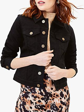 Oasis Denim Jacket, Black