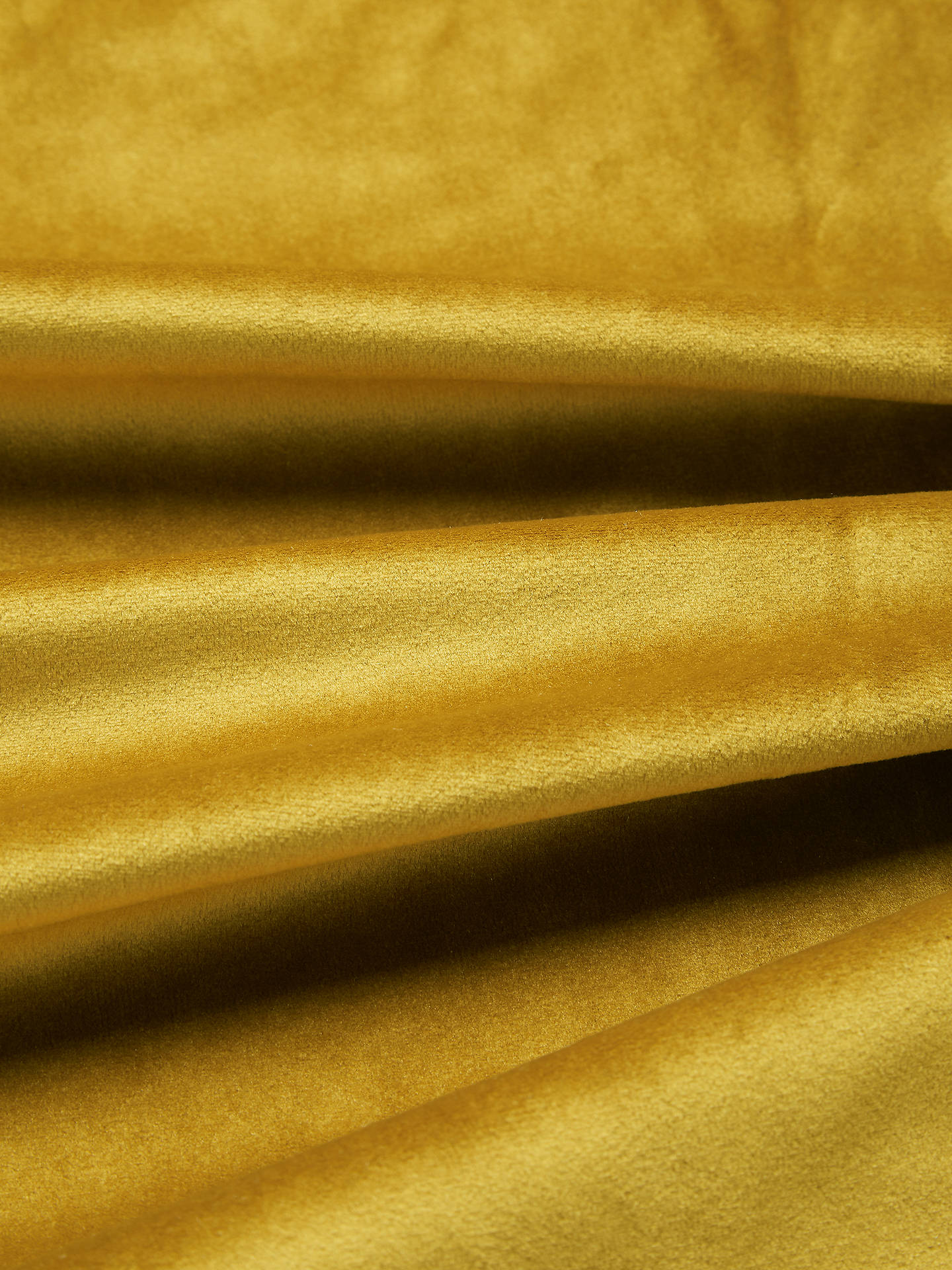 Buy John Lewis & Partners Velvet Pair Lined Eyelet Curtains, Gold, W167 x Drop 137cm Online at johnlewis.com