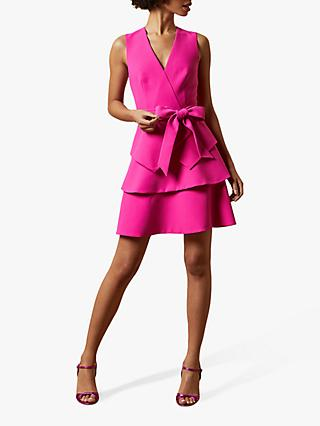 Ted Baker Reinah Bow Detail Mini Dress