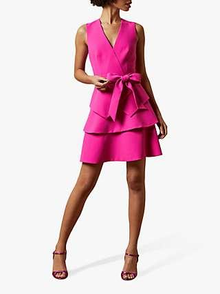 Ted Baker Reinah Bow Detail Mini Dress