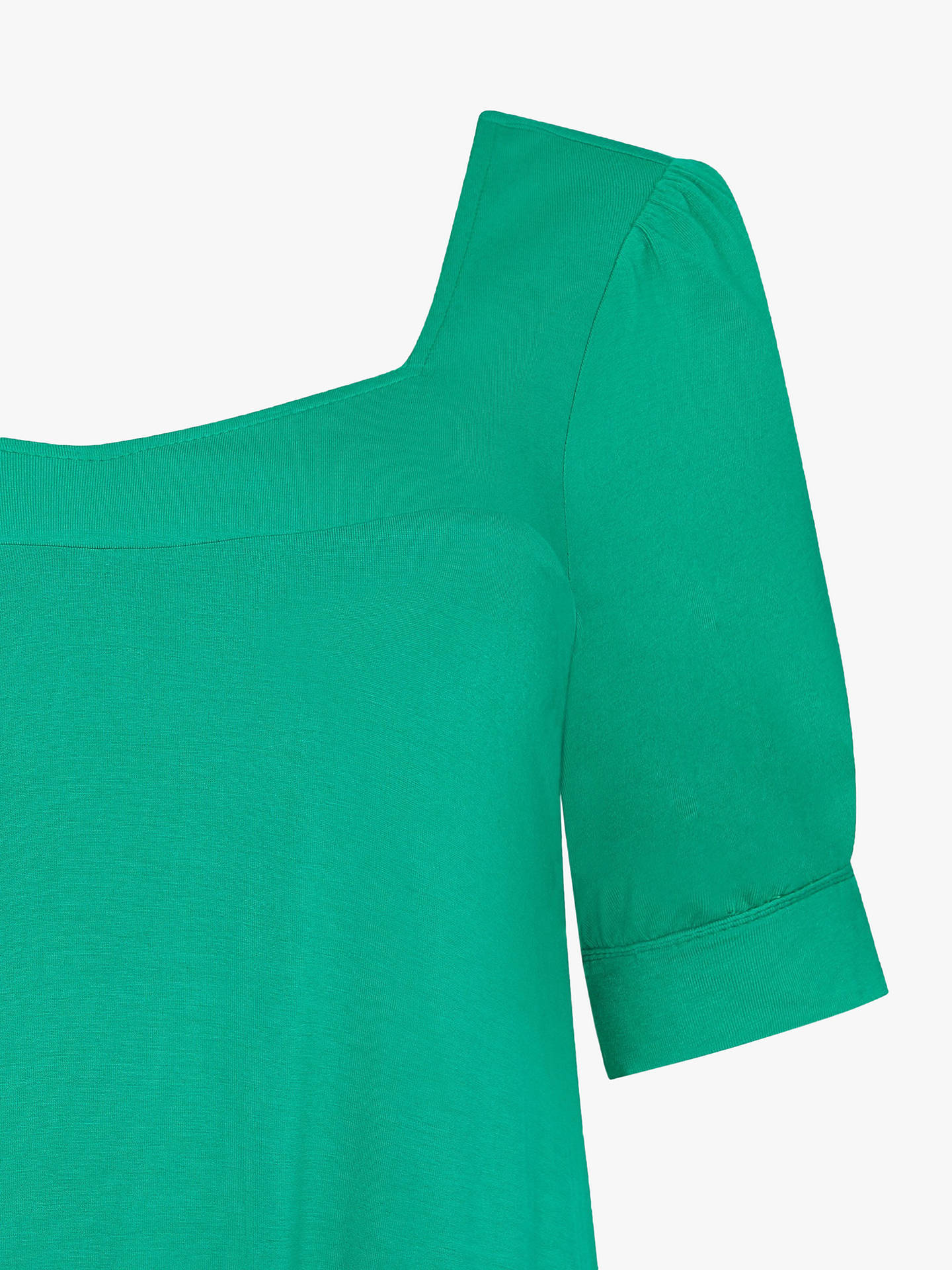 Buy Live Unlimited Curve Jersey Top, Green Jade, 12 Online at johnlewis.com