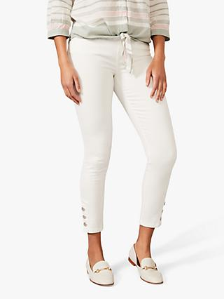 Phase Eight Bobbie Skinny Jeans, White