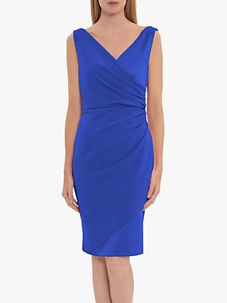 Gina Bacconi Loni Stretch Mini Dress, Summer Royal
