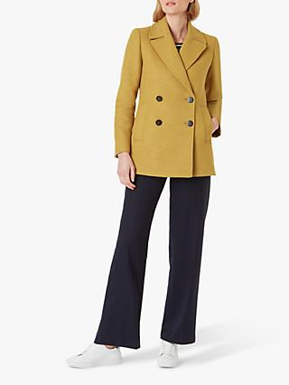 Hobbs Fran Coat, Yellow