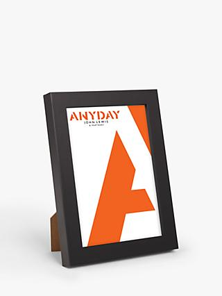 ANYDAY John Lewis & Partners Photo Frame, Black