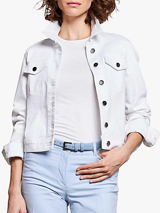 Pure Collection Denim Jacket, White