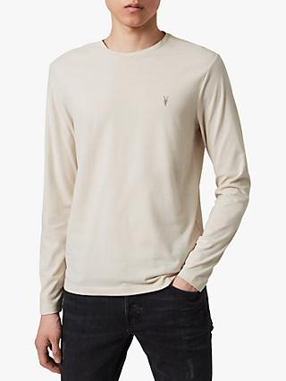 AllSaints Brace Long Sleeve Crew Jersey Top