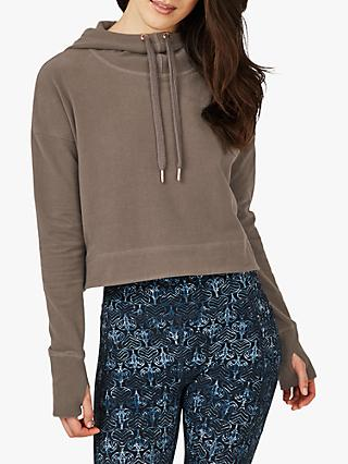 Sweaty Betty Escape Luxe Cropped Hoodie