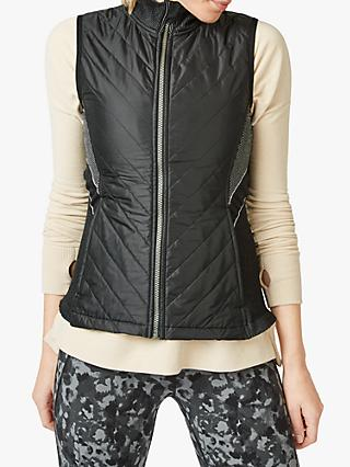 Sweaty Betty Speedy Running Gilet, Black