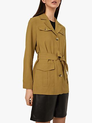 Warehouse Utility Belted Jacket
