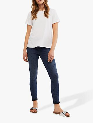 White Stuff Jade Cropped Jeggings, Denim