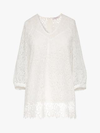 Gerard Darel Nuccia Lace Blouse, White