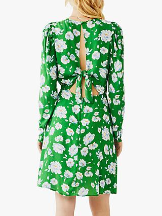 Ghost Evonna Mini Dress, Ariya Floral Green