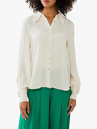 Ghost Lacey Blouse, Oyster