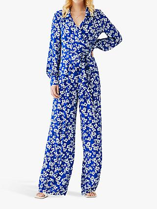 Ghost Joy Floral Jumpsuit, Avadine Floral Navy