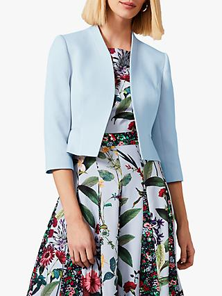 Phase Eight Nara Peplum Jacket, Sky
