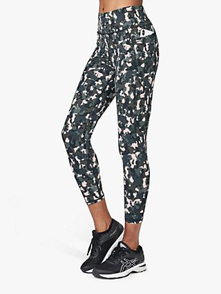 Sweaty Betty Zero Gravity 7/8 Leggings, Green Elephant