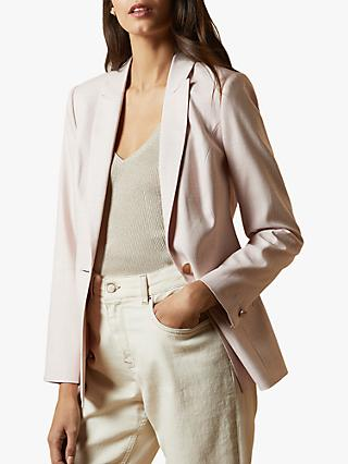 Ted Baker Farlee Suit Jacket, Baby Pink