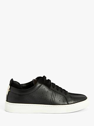 Kin Everett Leather Cupsole Trainers