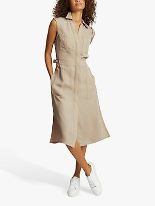 Reiss Effie Utility Midi Dress