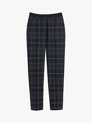 Mulberry Lucie Tartan Tapered Trousers