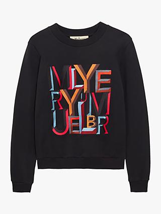 Mulberry Prudence Alphabet Crew Neck Jumper
