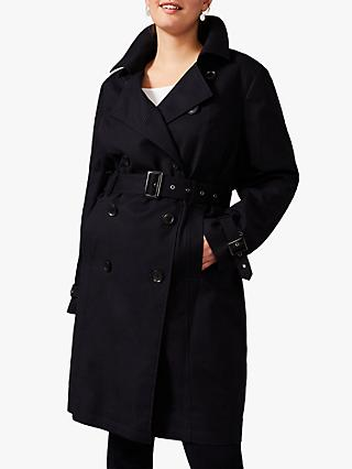 Studio 8 Tindra Trench Coat, Navy