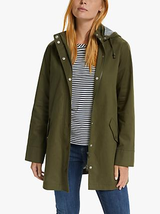 Collection WEEKEND by John Lewis Parka Mac Jacket, Khaki