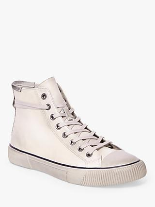 AllSaints Osun High Top Leather Trainers