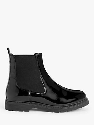 Kin Paxton Leather Stitch Detail Chelsea Boots