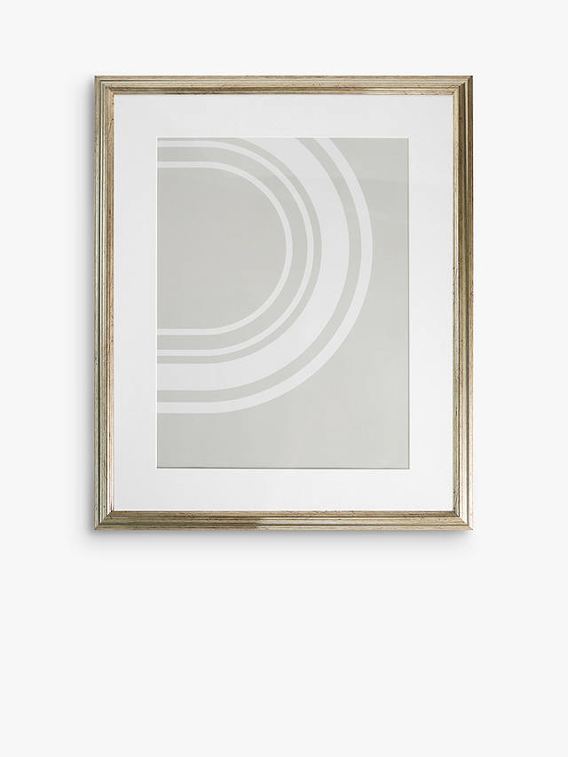 Buy John Lewis & Partners Ribbed Poster Frame & Mount, Champagne, A3 (29 x 42cm) Online at johnlewis.com