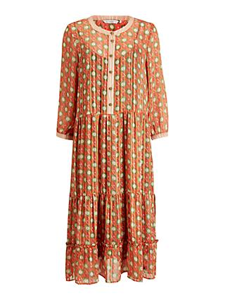 Numph Nuamabel Abstract Maxi Dress, Mango