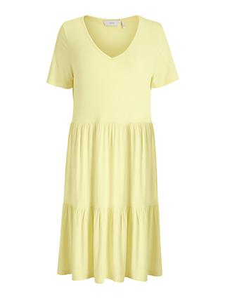Numph Numath Holly Maxi Dress, Yellow Iris