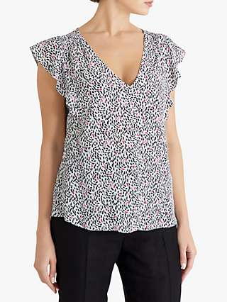 Fenn Wright Manson Diane Abstract Print Blouse