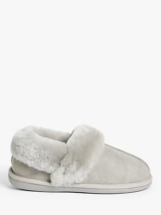 John Lewis & Partners Sheepskin Mule Cuff Slippers