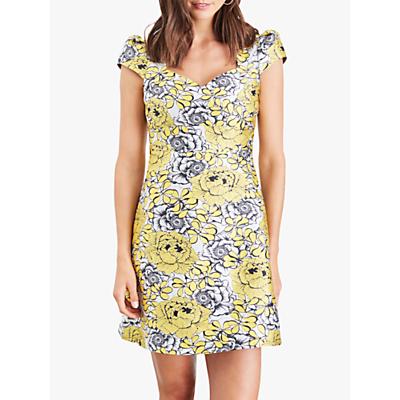 Damsel in a Dress Denice Floral Print Mini Dress, Multi