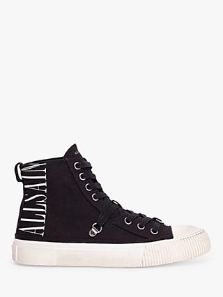 AllSaints Elena Stamp High Top Trainers
