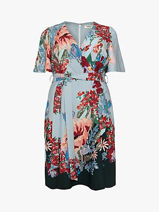 Studio 8 Bella Floral Print Wrap Dress, Multi