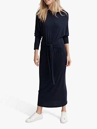 NRBY Amanda Jersey Column Dress, Navy