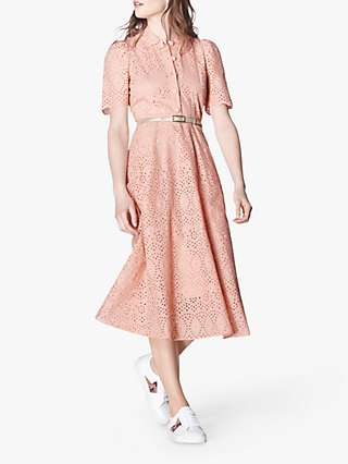L.K.Bennett Grace Dress, Rose Pink